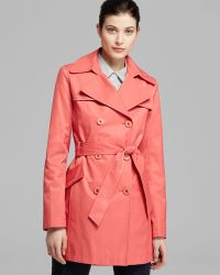 Via Spiga Trench Scarpa Double Breasted Belted - Lyst