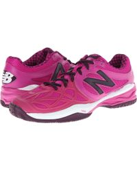 New Balance Pink Wc996 - Lyst