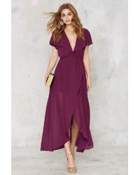 Nasty Gal | Great Lengths Plunging Dress | Lyst