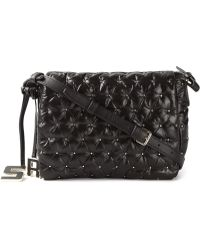Sonia by Sonia Rykiel 'Alban' Crossbody Bag black - Lyst