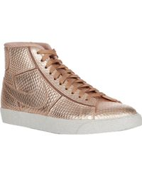 Nike Blazer Mid Cutout Premium Sneakers - Lyst