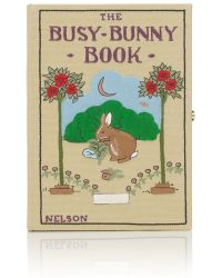 Olympia Le-Tan The Busy Bunny Book Clutch - Lyst