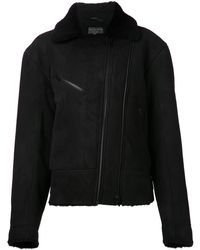 Rag & Bone Black Fitted Jacket - Lyst