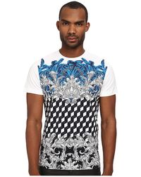 Versace Jeans Baroque Check Tee - Lyst