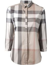 Burberry Brit Classic Checked Shirt - Lyst
