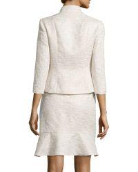 Kay Unger - 3/4-sleeve Skirt Suit - Lyst