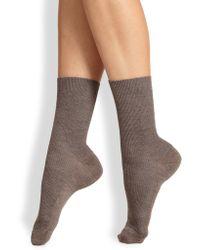Fogal - Nepal Ribbed Socks - Lyst