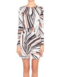 Emilio Pucci Viscose And Silk Dress With Zadig Print - Lyst