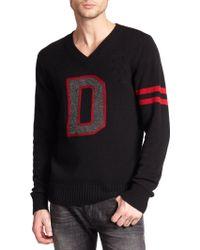Diesel D Varsity Sweater - Lyst