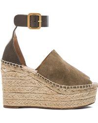 Chloé   Wedge Sandals   Lyst