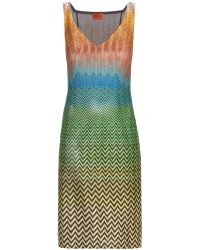 Missoni Crochet Knit Dress - Lyst