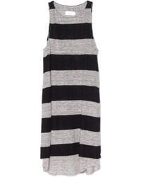 A.L.C. Grey/Black Mesa Dress gray - Lyst