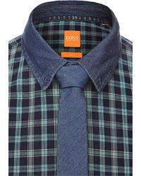 BOSS Orange - 'tie 5 Cm' Tie In Cotton - Lyst