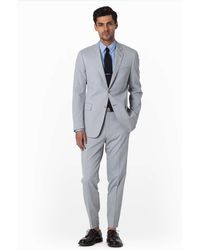 Todd Snyder Pincord Suit Pant In Light Grey gray - Lyst