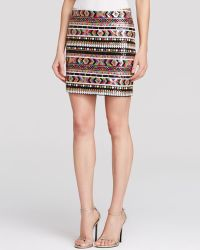 Guess Mini Skirt - Sequin - Lyst
