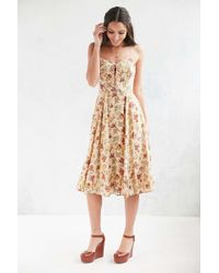 Cooperative - Georgia May Lace-up Dress - Lyst