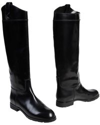 Marc Jacobs Black Boots - Lyst