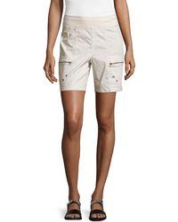 XCVI - Zip-pocket Pull-on Shorts - Lyst