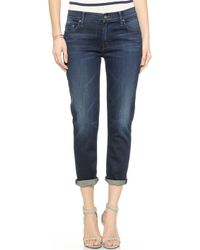 Mother The Dropout Slouchy Skinny Jeans - When The Lovin Gets Good - Lyst
