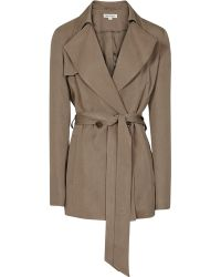 Reiss 1971 Radel Fluid Cropped Trench - Lyst