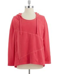 DKNY Hooded Sweatshirt - Lyst