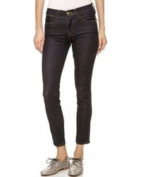 Frame Le High Rise Skinny Jeans Oxford Street - Lyst