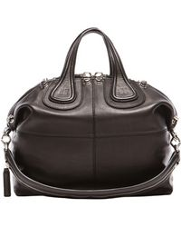 Givenchy Waxy Leather Medium Nightingale with Studs - Lyst