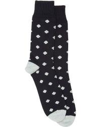 Corgi Polka Dot Thickknit Midcalf Socks - Lyst