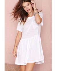 Nasty Gal Such A Tees Dress - Lyst