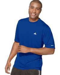 Adidas Shirt Performance Tech Tshirt - Lyst