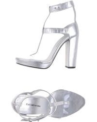 Costume National Platform Sandals - Lyst