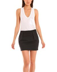 Elizabeth And James Claire Skirt black - Lyst