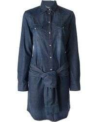Diesel Denim Dress - Lyst