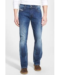 Diesel 'Zatiny' Micro Bootcut Jeans - Lyst