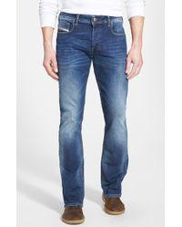 Diesel Men'S 'Zatiny' Micro Bootcut Jeans - Lyst