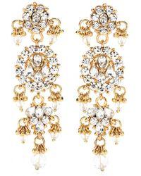 Isharya - Bling Maharani Earrings - Lyst