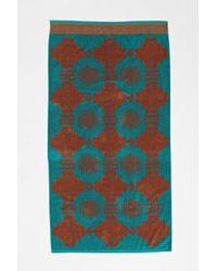 Pendleton Blue Jacquard Towel - Lyst