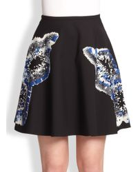 Sachin & Babi Aries Sequin Embroidered Skirt - Lyst