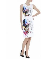 Preen Issy Flowertile Dress - Lyst