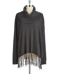 MICHAEL Michael Kors Cowl Neck Sweater - Lyst