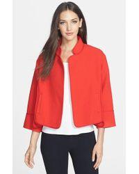 Classiques Entier 'Bella' Texture Wool Blend Jacket - Lyst