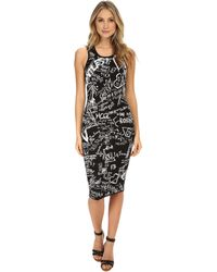 McQ by Alexander McQueen Jacquard Tank Dress - Lyst