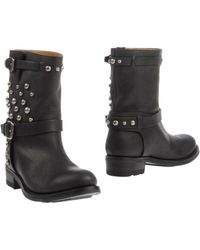 Ralph Lauren Collection Ankle Boots - Lyst
