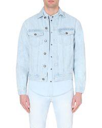 Calvin Klein Tyler Denim Jacket - For Men blue - Lyst