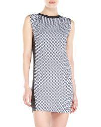 Alysi Dot Jacquard Dress - Lyst