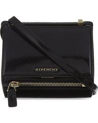 Givenchy Metallic Pandora Box Bag Black - Lyst