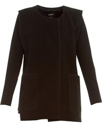 Isabel Marant Lapaz Cotton-Crepe Jacket - Lyst