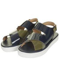 Topshop Fondant Strap Sandals - Lyst