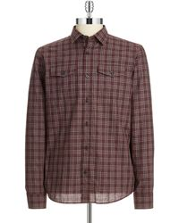 Michael Kors Plaid Sport Shirt - Lyst