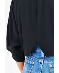 Kimchi Blue - Cape Sleeve Cropped Top - Lyst